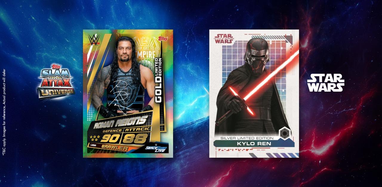 Slam Attax Universe, Star Wars