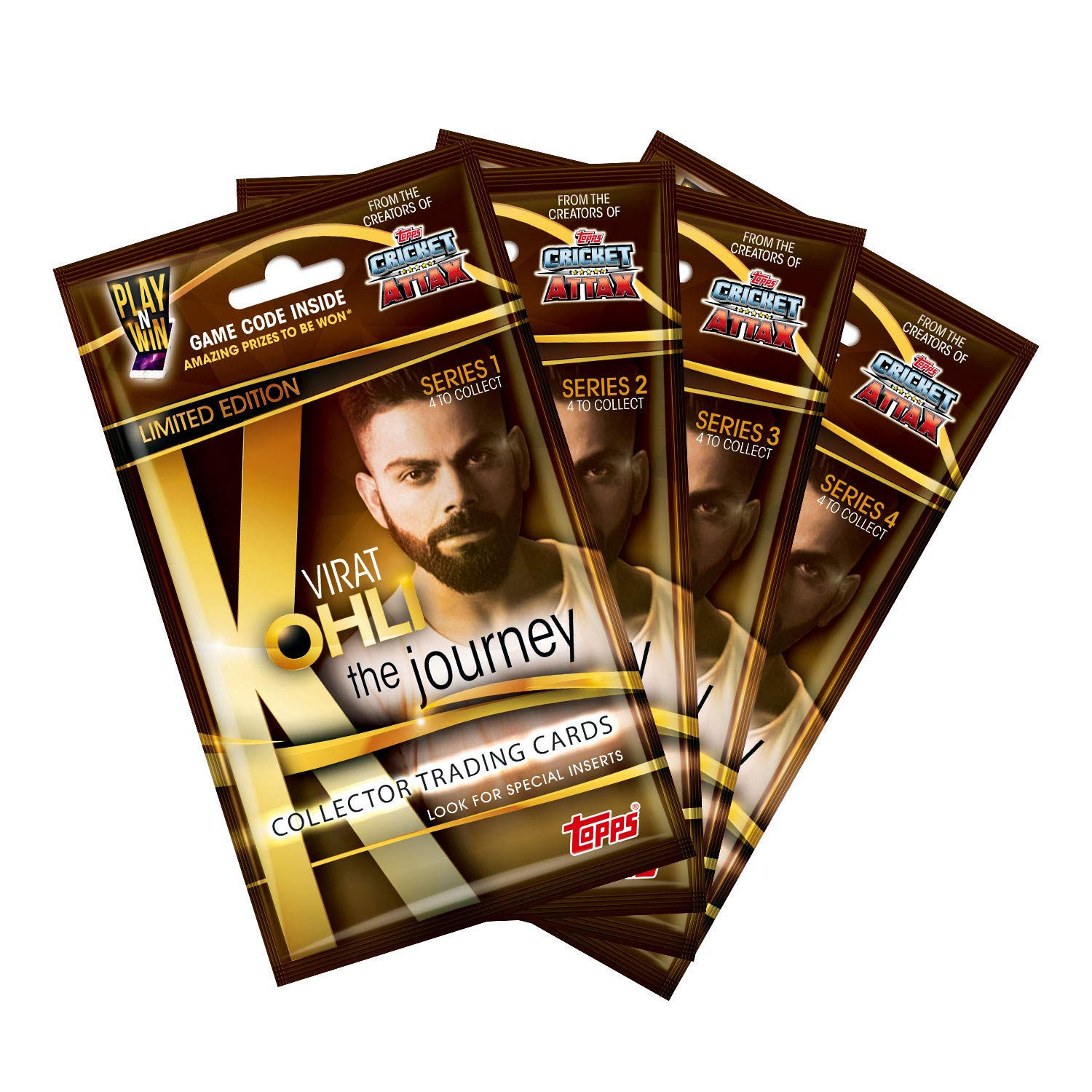 Collector Trading Card Game, Series 1,2,3 and 4